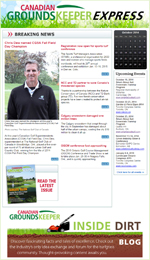 Canadian Groundskeeper Online Newsletter