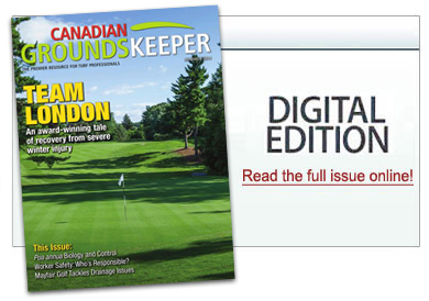 Canadian Groundskeeper Issue